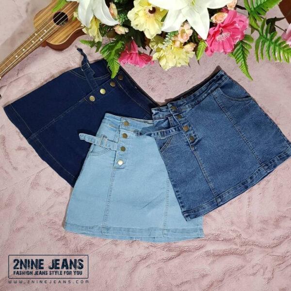 กระโปรงกางเกงยีนส์ ► 2N1080